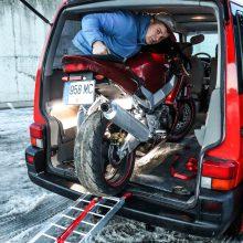 motociklo gabenimas