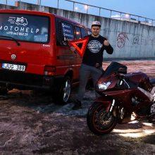 moto transportavimas